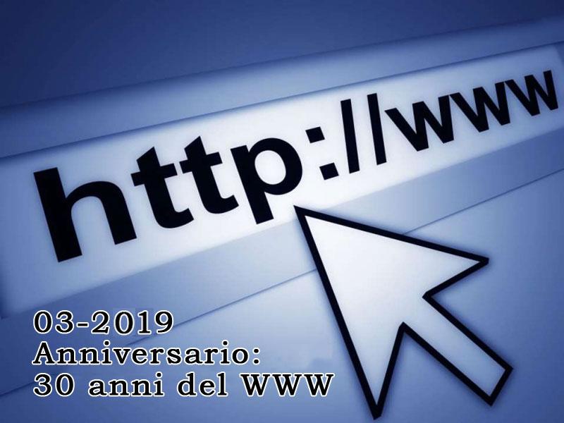 Anniversario: 30 anni del Web